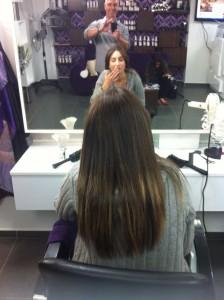 שיער חלק וארוך